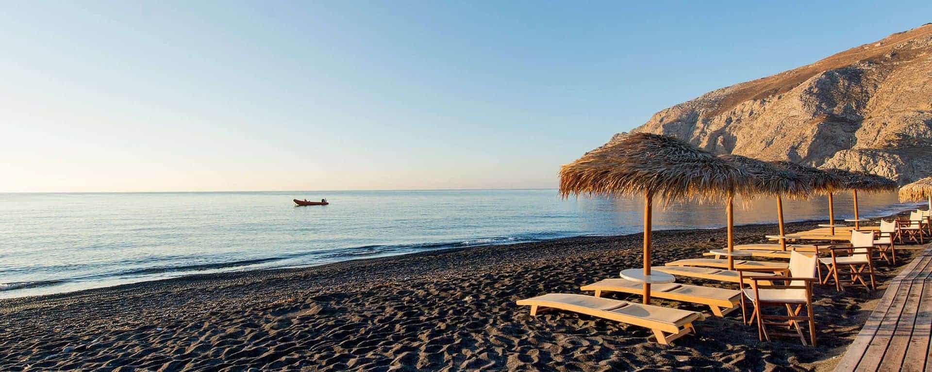 Just a breath away from Kamari beach