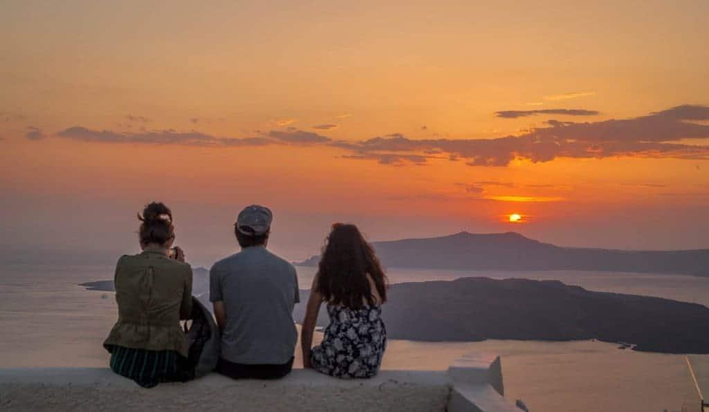 sunset-in-santorini